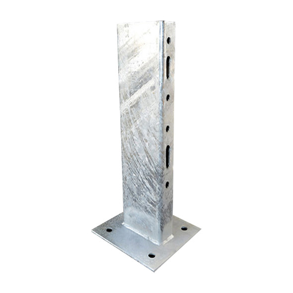 Guard Rail 1200mm Post with baseplate