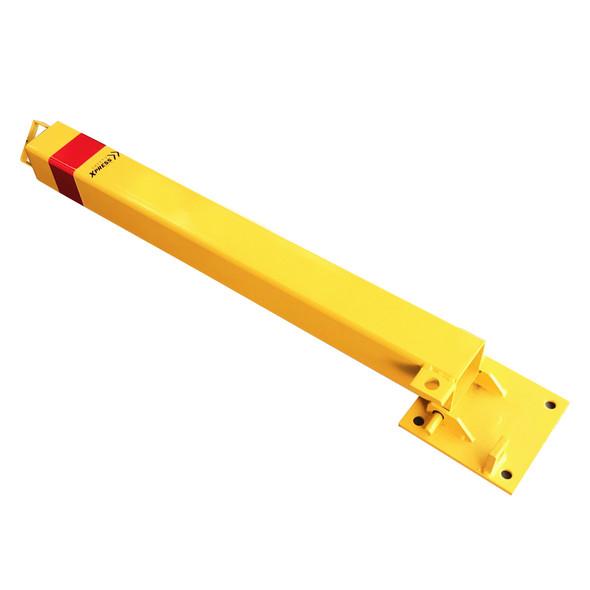 Fold Down Parking Protector Padlock Bollard 755mm x 70mm