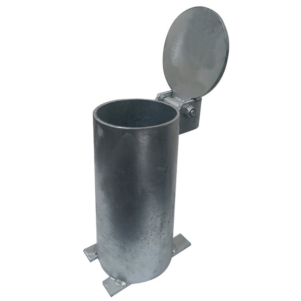 In-ground Sleeve for 90mm Removable Key Lock Bollard