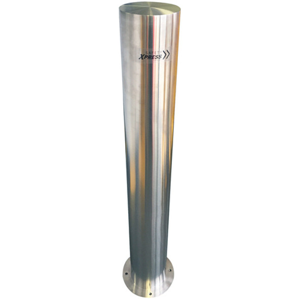 Bollard - Surface Mount 140mm x 1200mm Stainless Steel