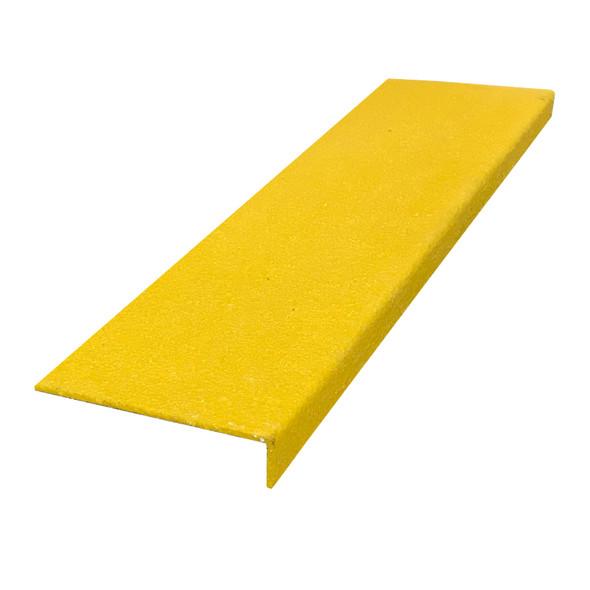 Fibreglass 150mmx30mm Stair Nosing - Yellow -  Sold Per Metre