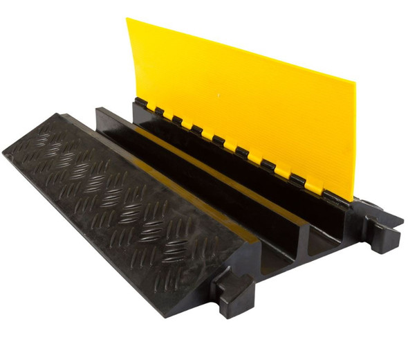 Cable Protector 2 Channel Large 90mm x 85mm - 20 Tonne