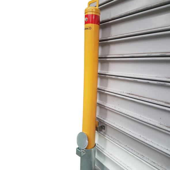 Roller Door Removable 90mm Key Lock Bollard