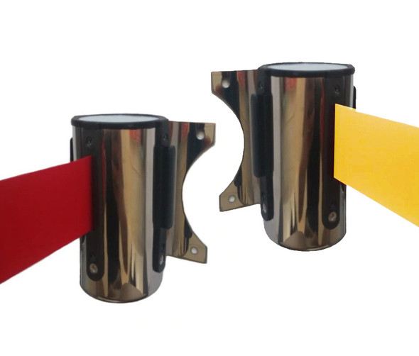Wall Mount Retractable Barrier 5M Stainless Steel