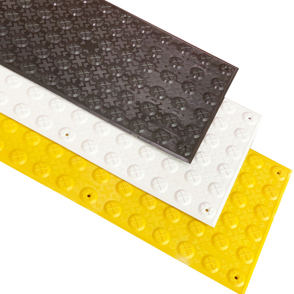 Ultimate Tactile Hazard 300mm x 600mm - Tough Aussie Made - VIC & QLD Roads Approved