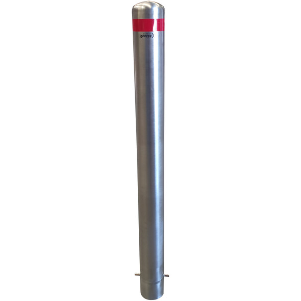 Below Ground 114mm x 1300mm Stainless Steel Bollard