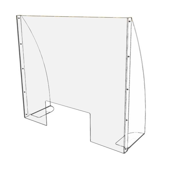 Hygiene Screen with side wings