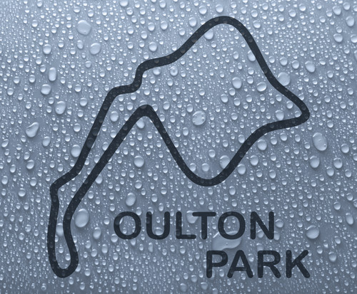 Oulton Park - British race circuit vinyl decal sticker