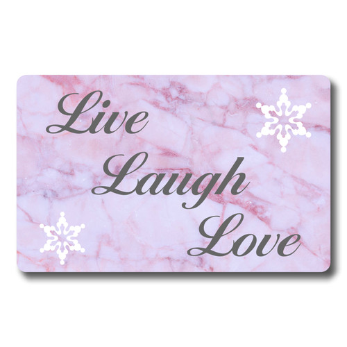 Love Laugh Live 12 month Calendar - Credit Card Size various start dates