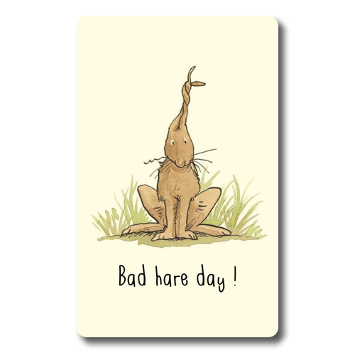 Bad Hare day - Credit Card Size various start dates