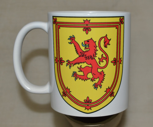Royal arms of Scotland - 11oz mug