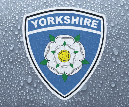 Yorkshire rose county shield