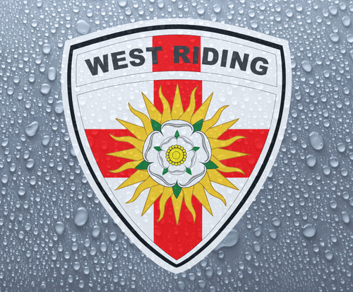 West Riding of Yorkshire rose county shield