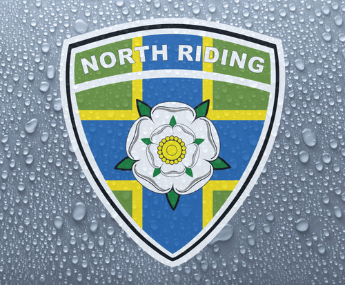 North Riding of Yorkshire rose county shield