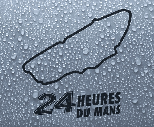 Le Mans 24hr - French race circuit vinyl decal sticker
