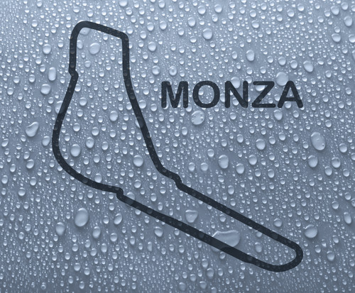 Monza - Italian race circuit vinyl decal sticker