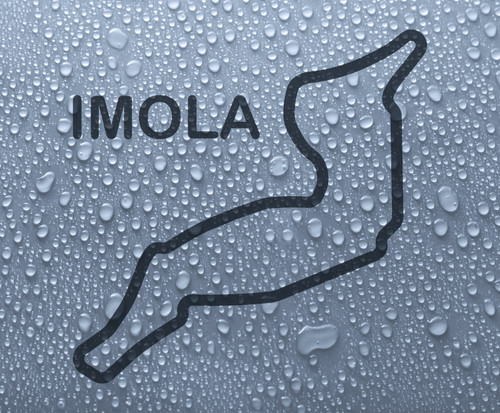 Imola - Italian race circuit vinyl decal sticker