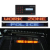 Federal Signal LED Police and Emergency Vehicle Message Board and Traffic Advisor