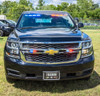 New 2019 Black Chevy Tahoe Police Package V8 2WD ready to be built as a Slick-Top Admin Package, choose any color LED Lights, + Delivery