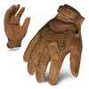 IronClad EXO Tactical Operator Coyote Tan Impact Glove with Anti-Vibe Palm
