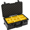 Pelican 1535 Air Carry-On Case - Super Lightweight Design, includes Wheels and Retractable Extension Handle, with Optional Foam Insert, Padded Dividers or TrekPak Divider System, 23x15x19, 25 lbs (w-out foam, 22 lbs)