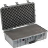 Pelican 1555 Air Small Case - Super Lightweight Design, with Optional Foam Insert, Padded Dividers or TrekPak Divider System, Available in Black, Orange, Silver, or Yellow, 26x17x18, 24 lbs (w-out foam, 20 lbs)