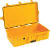Pelican 1605 Air Medium Protective Hardshell Case - Super Lightweight Design, with Optional Foam Insert, Padded Dividers or TrekPak Divider System, Available in Black, Yellow, Sliver or Orange, 30x17x10, 14 lbs (w-out foam, 11 lbs)
