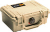 Pelican 1120 Small Protector Case, Watertight, Crushproof, and Dustproof, with Optional Foam Insert or TrekPak Divider System, Available in Black, Silver, Orange, Yellow, Blue, OD Green, or Desert Tan, 15x13x10, 10 lbs