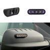 "Soundoff Side-view Mirror LED mPower Fascia Light-heads, 3"", tri-color 12-LED per light head, Pair, Kit, Universal Mount"