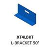 Code-3 L-Shaped Mounting Bracket, 90 Degrees, Fits XTP4 and ULT Light Heads XT4LBKT