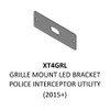 Code-3 Universal Bolt-On Grille Single Bracket, Fits XTP4 and ULT Light Heads XT4GRL