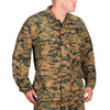 Propper® F5450-25 BDU Tactical Uniform Coat Jacket, Cotton/Polyester ripstop, Adjustable Cuffs, Four front cargo pockets with hidden button flaps,