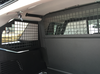 Troy Chevy Tahoe 2015+ Prisoner Transport Package, Center-Sliding Partition Cage, Rear Wire Mesh Partition Cargo Barrier, Vertical Steel Window Bars, IN STOCK