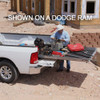 """Cargo-Glide CG1500 Nissan Frontier, Steel Truck-Bed Slide and Extender, 1500 lb capacity, 65-75% Extension, 4"""" side rails, 4.25"""" deck height, includes installation kit"""
