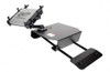Gamber 7170-0193 Universal Passenger Seat Laptop Computer Mount NotePad V, Universal Laptop Cradle, for Smaller Laptops, and 6 inch articulating arm