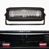 Soundoff nFORCE® Single Dash Deck/Grille 6 LED Light, Single Color per light head or Split Color per light head, ENFSGS1, includes swivel L-Bracket