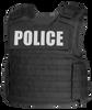 Armor Express ® OCX Men's Exterior Bulletproof Body Armor Vest, Front hard armor plate pockets, adjustable shoulder straps and a drag handle on rear of vest, Choose Vest only or Vest and Plates, NIJ Certified - Level II, or Level IIIA Threat Levels