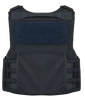 Armor Express ® Hard Core PT Men's Exterior Bulletproof Body Armor Vest, Fully adjustable Shoulders-upper admin pouch and ambidextrous utility pockets-Choose Vest only or Vest and Plates, NIJ Certified - Level 2, or Level 3A Threat Level