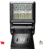Whelen Arges™ Series Super-LED® 360° Remote Control Spotlight, Chevrolet Silverado 1500, 2019, 360º continuous rotation with 180º tilt range, 3 button Control Head Included, Driver Side Mounted