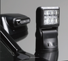 Whelen Arges™ Series Super-LED® 360° Remote Control Spotlight, Dodge Durango 2015-2020, 360º continuous rotation with 180º tilt range, 3 button Control Head Included, Driver Side Mounted