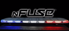 Soundoff nFUSE LED Light Bar, Dual Color, 2-colors per head, ENULB, Blue-Print Enabled, 48 or 54 inches, 1.9 inches tall, Quick install with CAT5 connection for nERGY Sirens, includes Cruise Mode, available in Amber, Blue, Red, White, Green