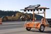 Wanco Solar Powered Arrow Board Trailer, Folding or Vertical Board, 15 Light or 25 Light Display