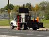 Vehicle Truck Mount Arrow Board Sign by Wanco