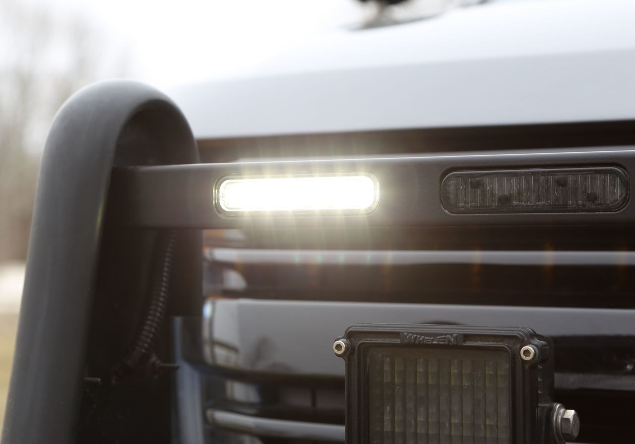 Whelen ION DUO Hood, Grille and Universal Mount LED Light Head