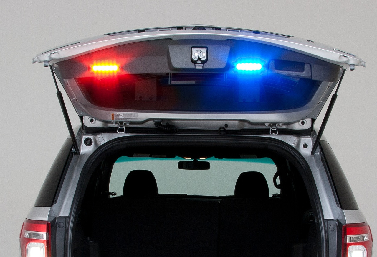 Whelen ION TRIO Hood, Grille and Universal Mount LED Light Head