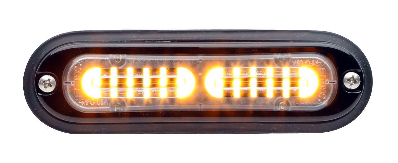 Whelen TLI T-series ION Ultra Thin LED Flush Surface Mount Light Head