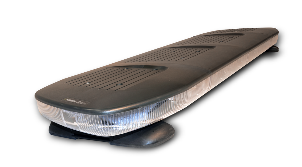 Soundoff nForce LED Light Bar for Police and Emergency Vehicles, 42 48 or 54 inch, Single or Dual Color LEDs