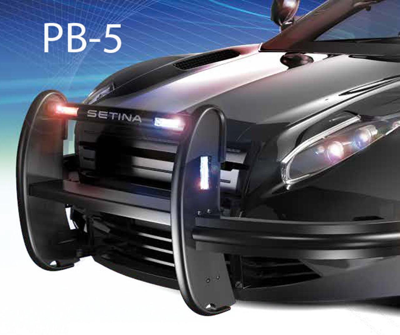 Setina Push Bumper with Fender Wrap PB5 + PB400 for Cars SUVs Trucks and Vans