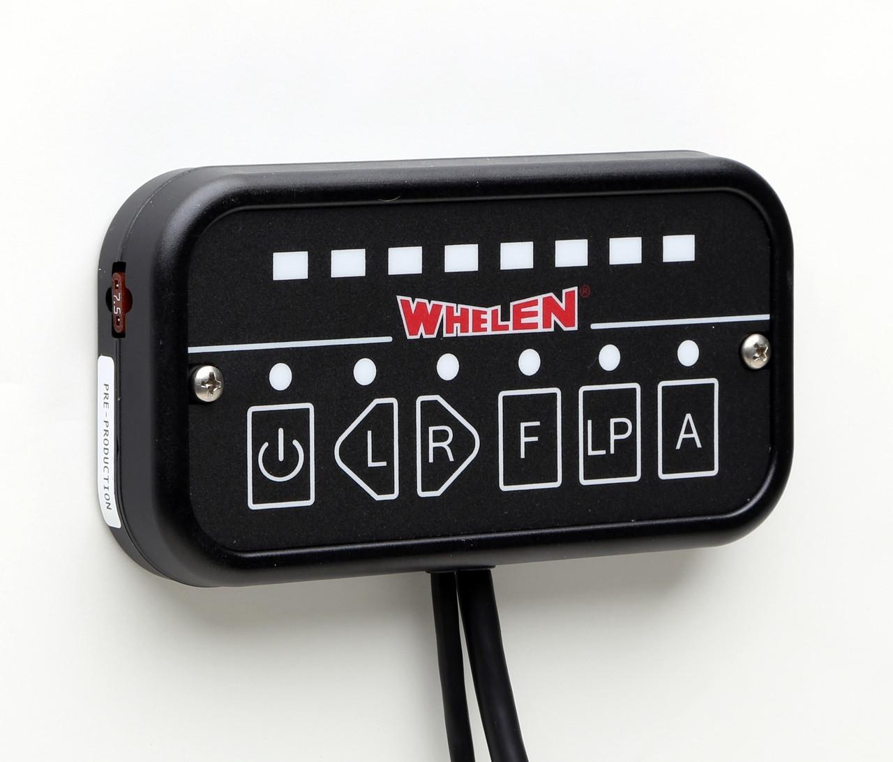 Whelen Arrow Stick Traffic Advisor LED TAC8 and Control Head
