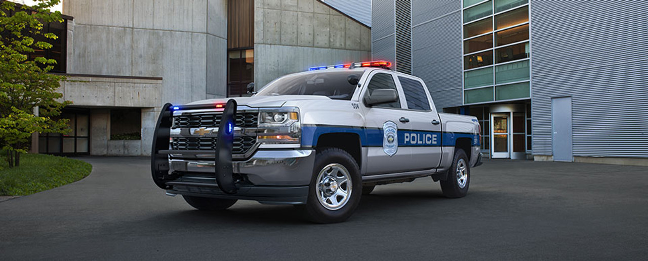 Truck Police Vehicle Graphics Decal Kit FS-55